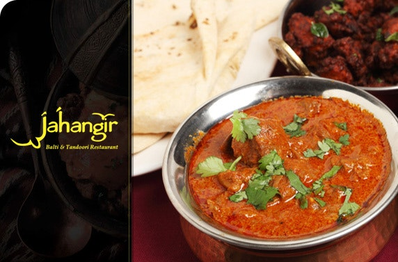 Indian Meal For Two At Jahangir Restaurant Save 53