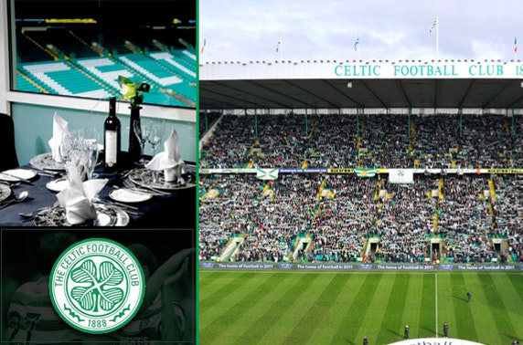 VIP Restaurant Experience with Celtic FC - save up to 57%
