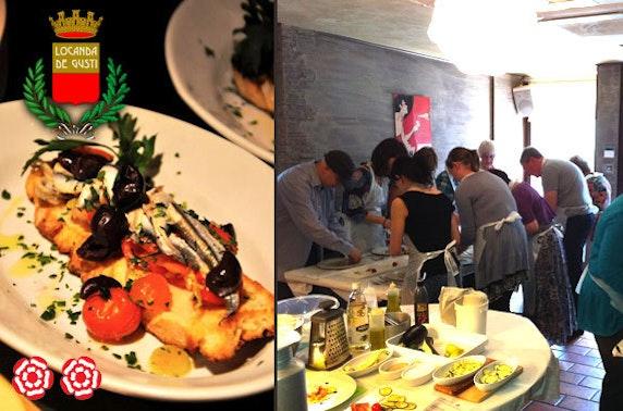 Italian cookery class at Locanda Di Gusti