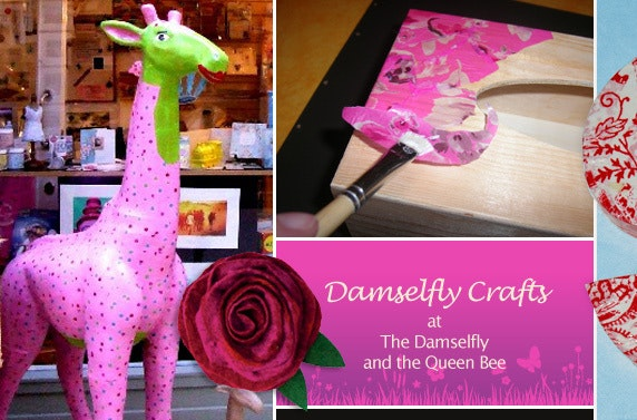Crafternoon tea at The Damselfly and the Queen Bee