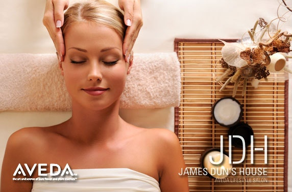 Aveda Pampering @ James Dun's House