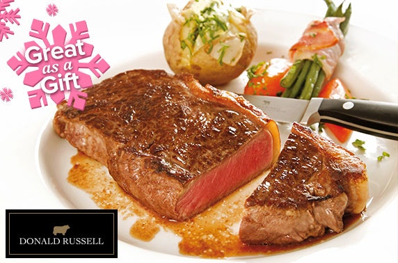 Donald Russell Steak Selection - £29