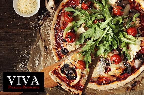 Viva Ristorante pizza or pasta - £5pp