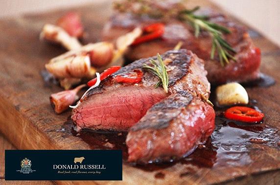 Award-winning butcher Donald Russell online voucher