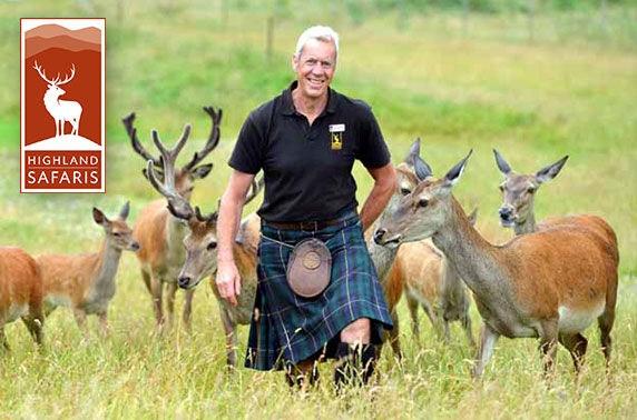 Highland Safaris in Aberfeldy