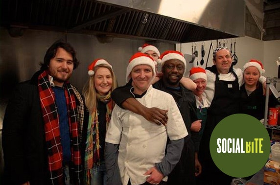 Buy a homeless person Xmas dinner @ Social Bite