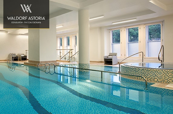 Guerlain Spa day passes, 5* Waldorf Astoria Edinburgh