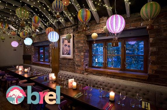 Brel dining, Ashton Lane