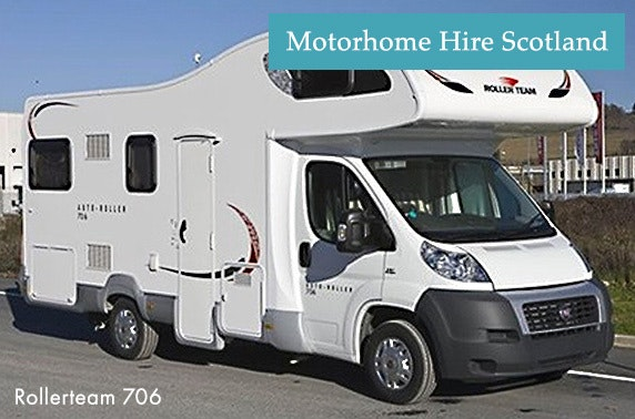Fantastic  And A Large Over Cab Bed Collection Motorhome Hire Edinburgh