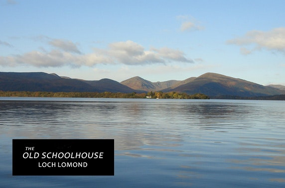 Loch Lomond group getaway – less than £13pppn