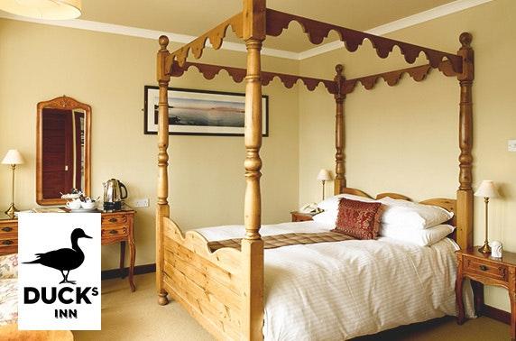 East Lothian stay & Prosecco - £69