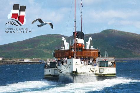 Paddle Steamer Waverley cruises