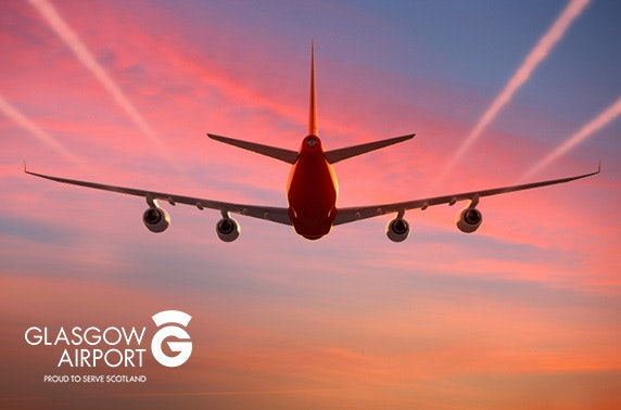 Glasgow Airport parking – from £2.26 per day