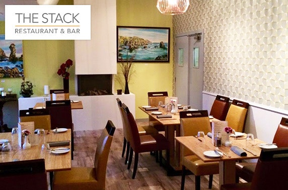 The Stack Restaurant & Bar dining