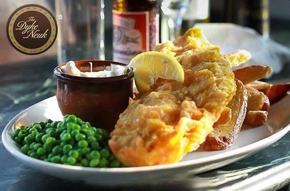 The Dyke Neuk dining, Morpeth