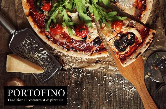 Portofino Italian dining - £4.50pp