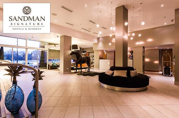 Sandman Signature Hotel stay - £79