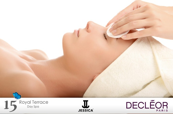15 royal terrace spa day itison for 15 royal terrace day spa glasgow