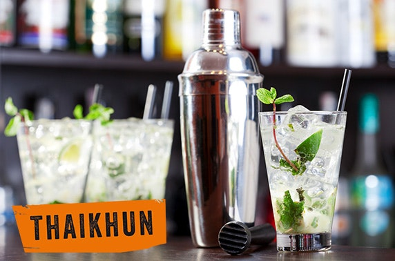 Thaikhun Aberdeen cookery and cocktail class