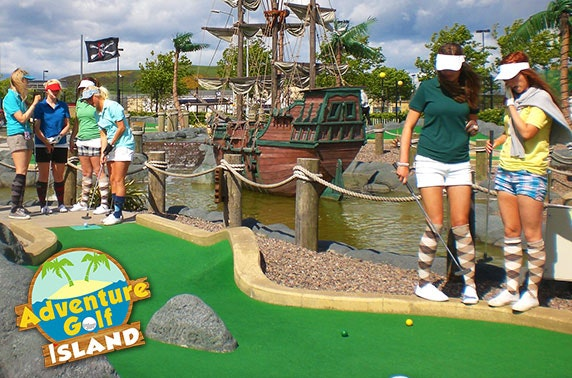 Adventure Golf Island – from £4.75pp