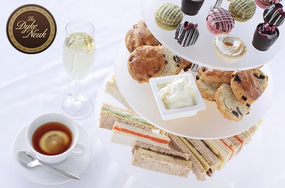 The Dyke Neuk Prosecco afternoon tea