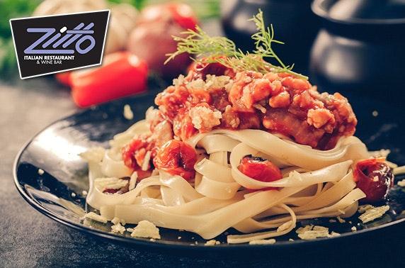 Zitto Italian dining, North Berwick