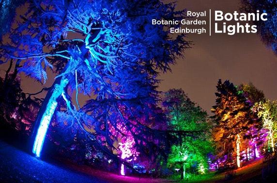 Botanic Lights Tickets Royal Botanic Garden Edinburgh Itison
