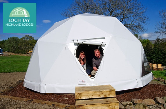 Loch Tay Highland Lodges glamping - from £12pppn