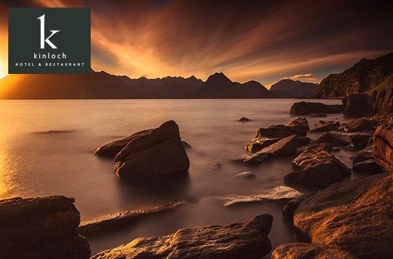 3 AA Rosette Kinloch Lodge getaway, Isle of Skye