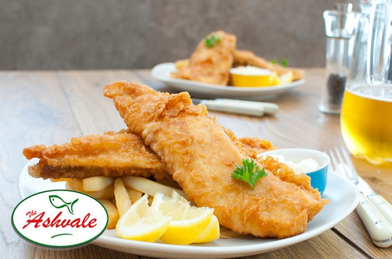 Award-winning Ashvale fish & chips