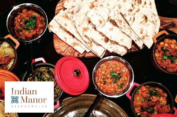 Indian Manor dining, Bothwell - £8pp