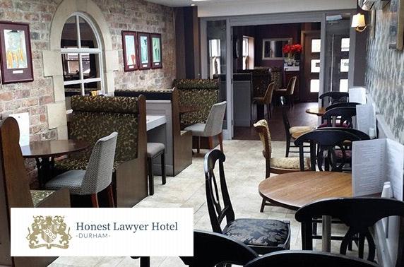 AA Rosette afternoon tea, Honest Lawyer Hotel
