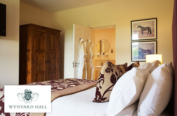 4* Wynyard Hall hot tub cottage stay; less than £50pp