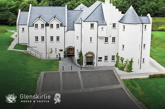 Glenskirlie Castle afternoon tea