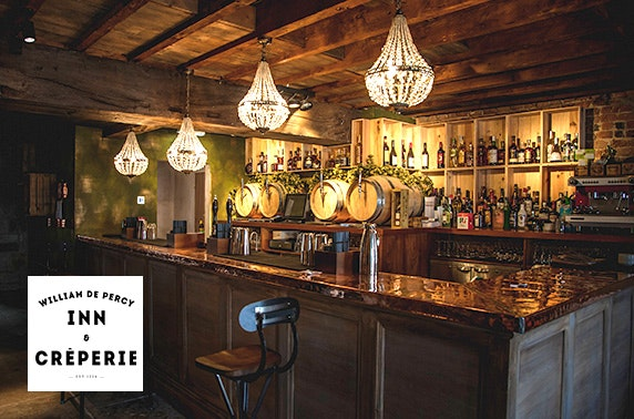 Romantic Northumberland DBB & Champagne