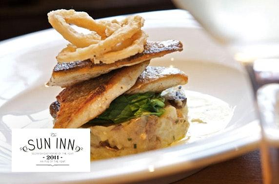 The Sun Inn dining, Dalkeith