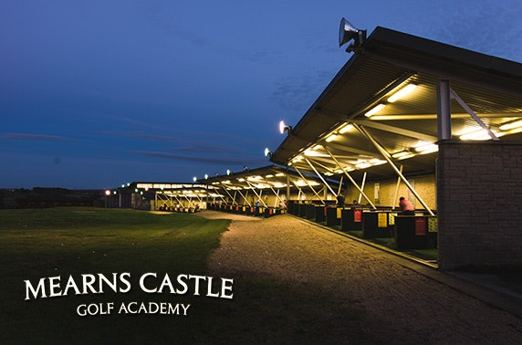 5* Mearns Castle Golf Academy round & driving range