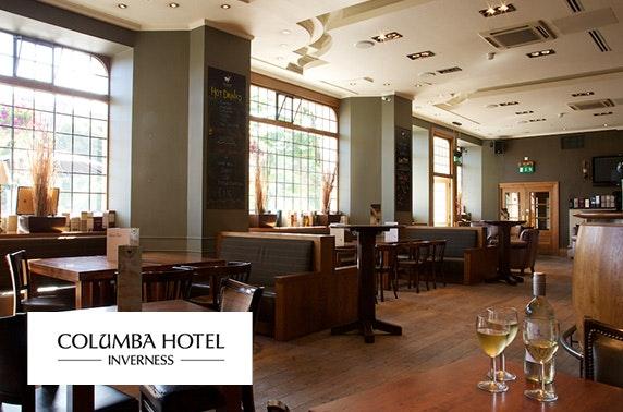 4* The Columba Hotel DBB - £79