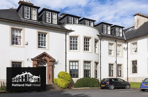 Hetland Hall DBB, Dumfries - £59