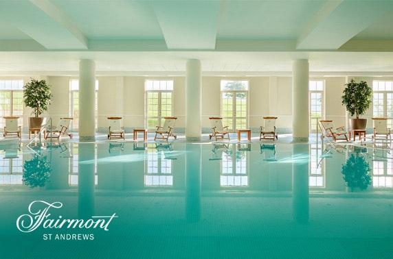 5* Fairmont St Andrews luxury stay