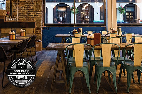 BrewDog chicken & beer, Merchant City