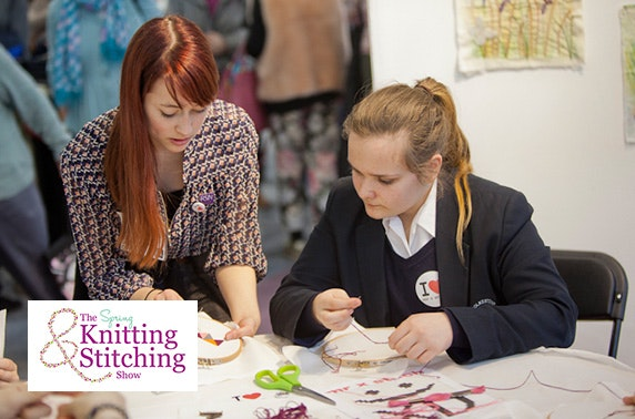 Knitting And Stitching Show Ticket Offers : The Knitting & Stitching Show, The Royal Highland Centre   itison