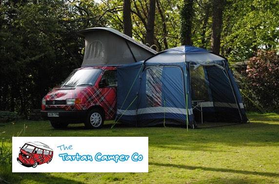 The Tartan Camper Co motorhome hire