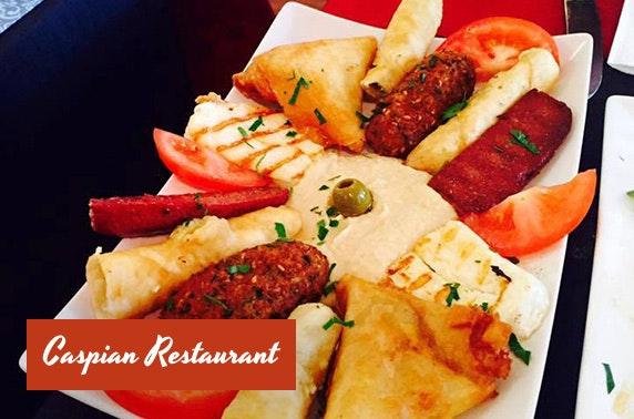Caspian Restaurant Turkish mezze