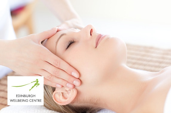 Edinburgh Wellbeing facial and massage