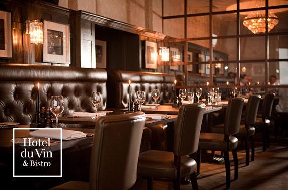 4* Hotel du Vin St Andrews dinner & wine