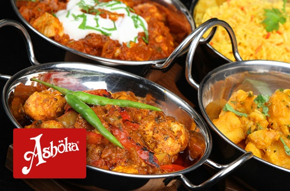 Ashoka West End Indian dining – from £5