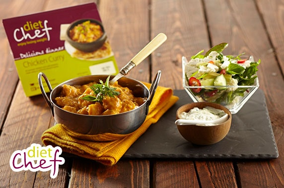 Diet Chef meals - from £3.45 per day