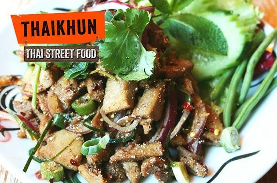 Thaikhun Silverburn cookery class