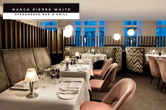 Marco Pierre White steaks & wine